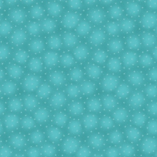 Small Stars Teal - Blank Quilting