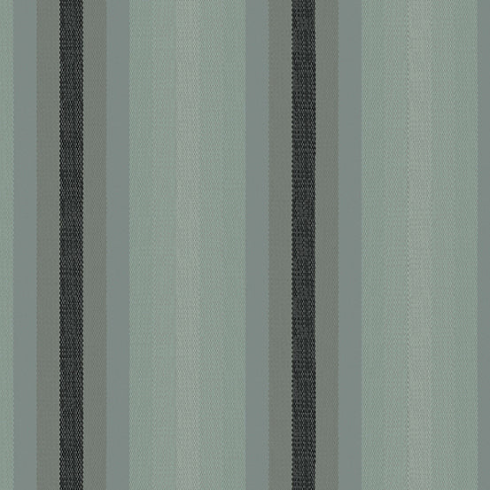 Kaleidoscope Stripes + Plaids - Stripes in Charcoal - Alison Glass