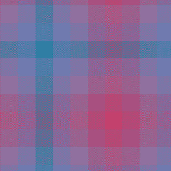 Kaleidoscope Stripes + Plaids - Plaid in Thistle - Alison Glass