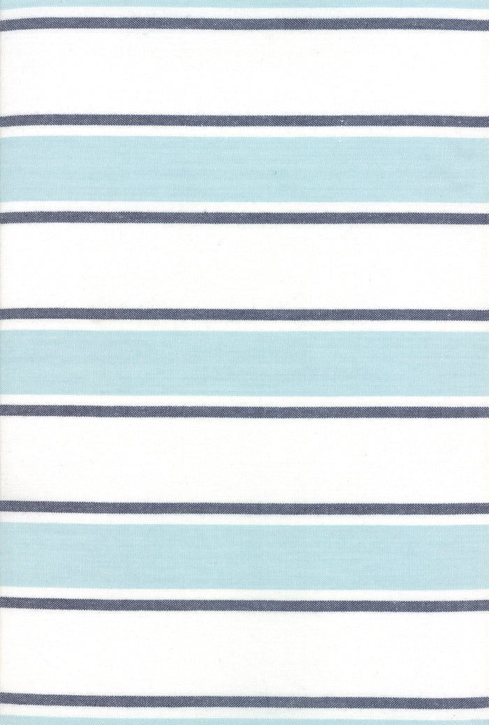 "Seaglass Stripe - Rock Pool 60"" Toweling"