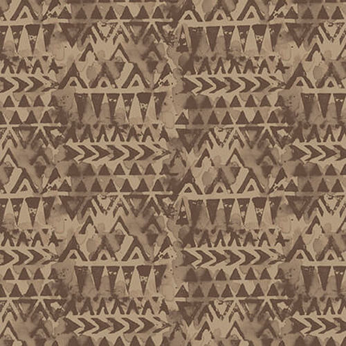 Light Brown Triangle Geo - Blank Quilting