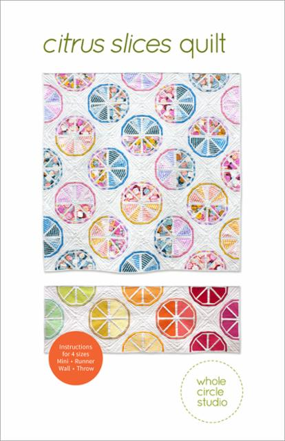 Citrus Slices Quilt Pattern - Whole Circle Studio