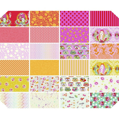 PREORDER - Curiouser & Curiouser Wonder Fat Quarter Bundle - Tula Pink