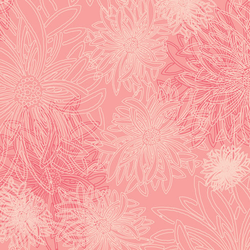 Floral Elements Blush - Art Gallery Fabrics
