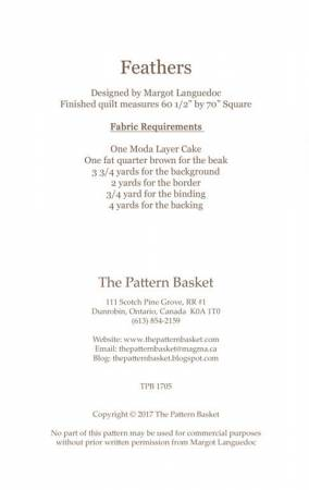 Feathers Quilt Pattern - The Pattern Basket