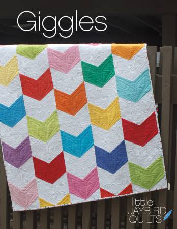 Giggles Baby Quilt Pattern - Jaybird Quilts