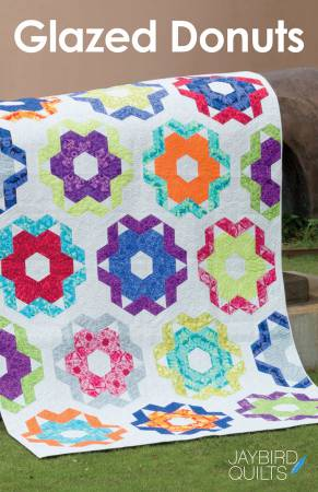 Glazed Donuts Quilt Pattern - Jaybird Quilts