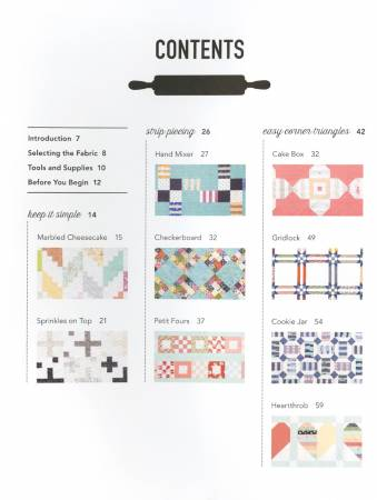 Jelly Filled Pattern Book - Vanessa Goertzen
