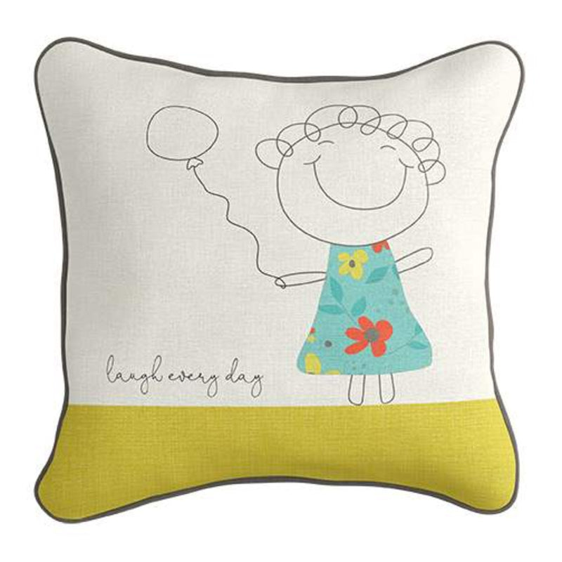 Words of Wisdom Applique Pillow Pattern - Sandy Gervais