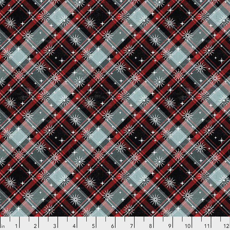 Winter Plaid Multi - Yuletide - Tim Holtz