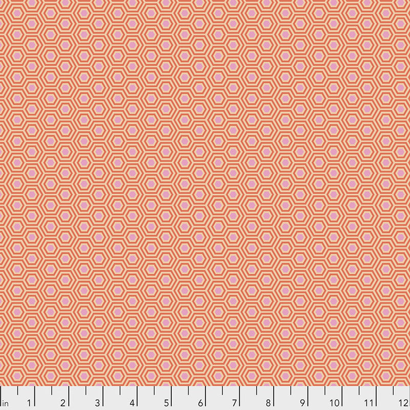 Hexy Peach Blossom - Tula's True Colors – Tula Pink