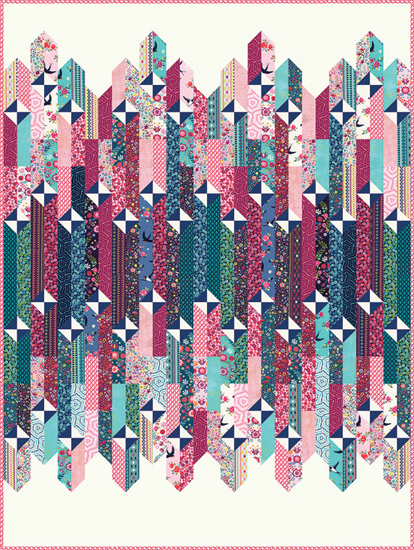 Take Flight Quilt Pattern - Crystal Manning