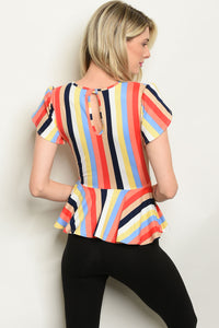 Top de Rayas Multi Color