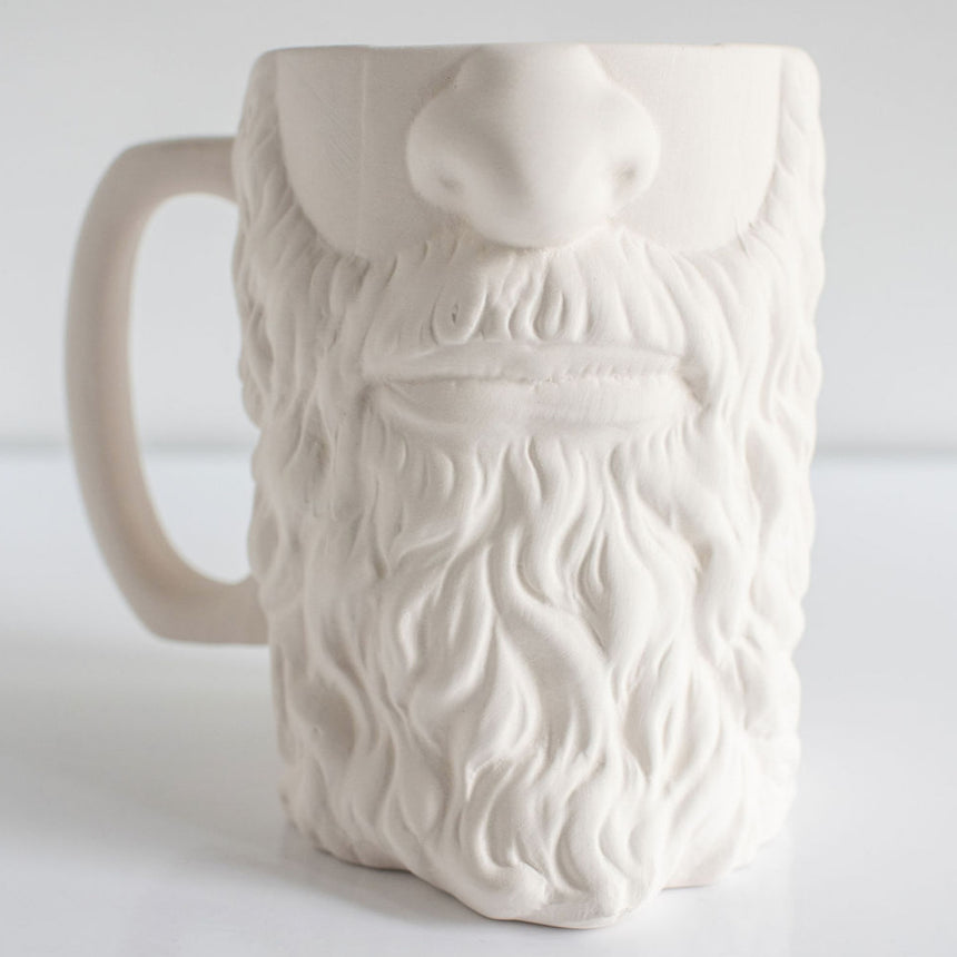 Bearded Beer Stein