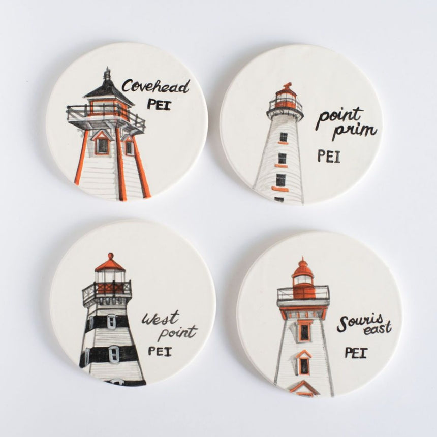 Lighthouse Coaster Set
