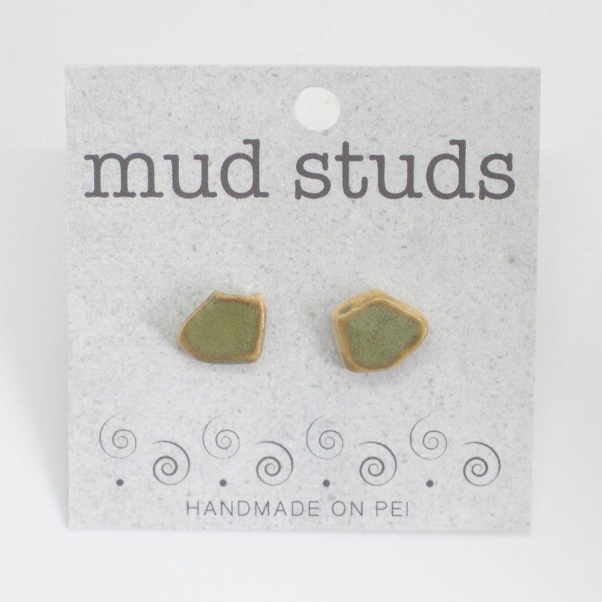 Green Tea Mud Studs