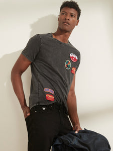 SS BSC SKI PATCHES CREW TEE
