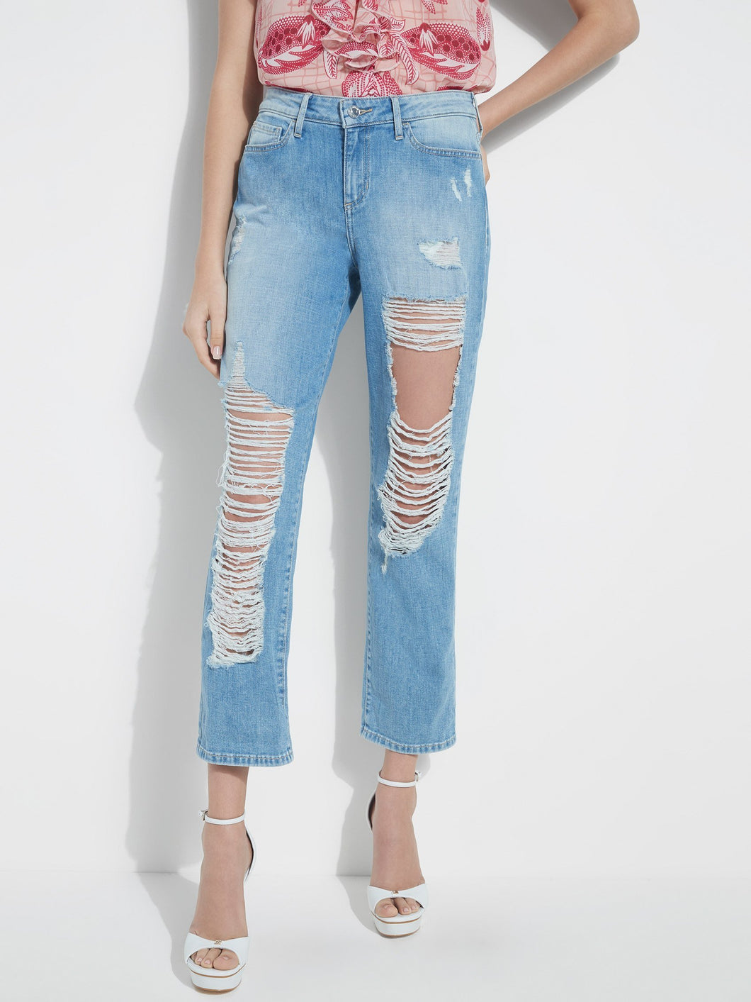 DESTROYED RELAXED JEAN