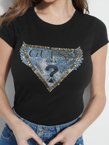 SS EMBELLISHED WINGS R3 TEE