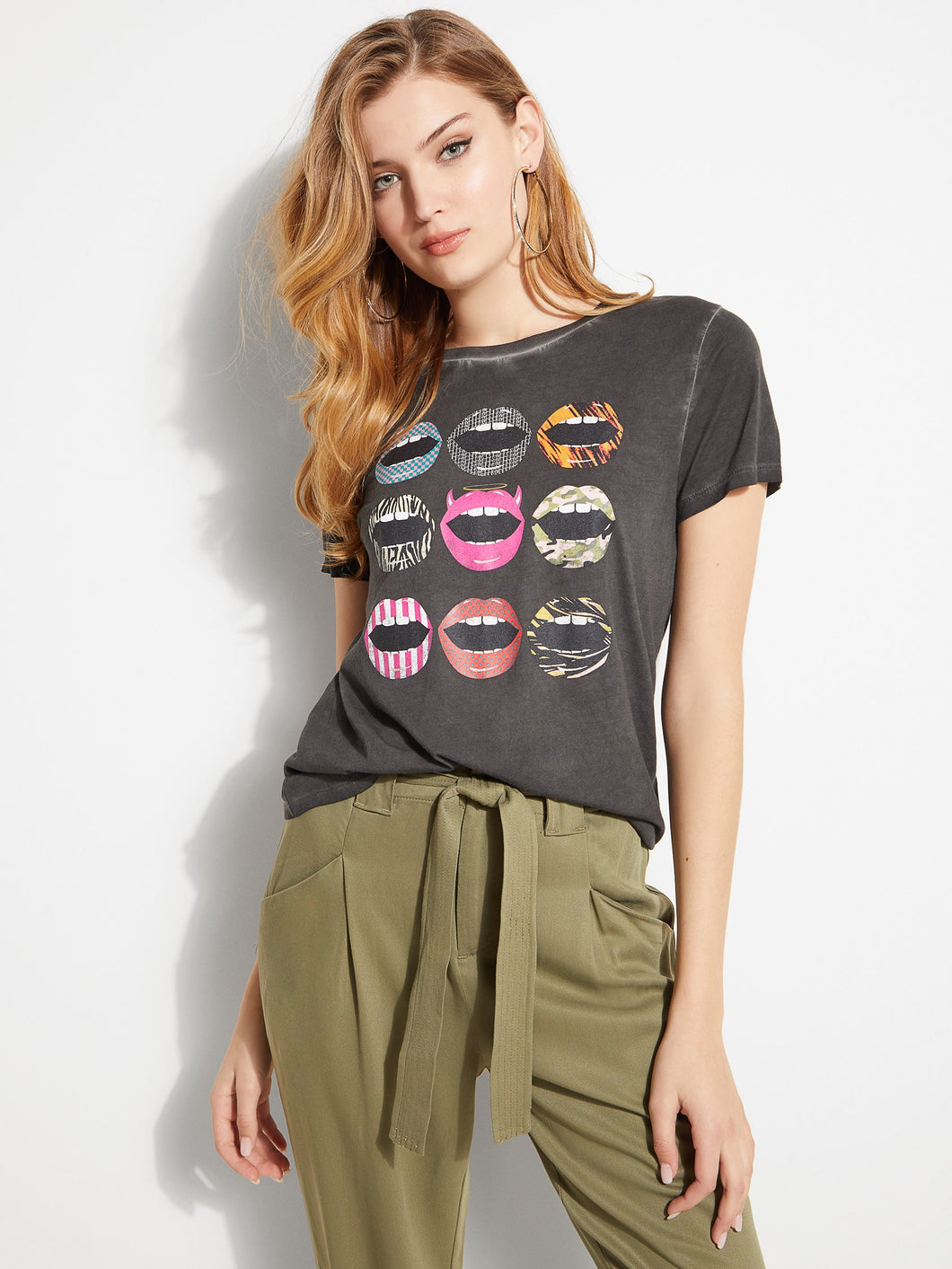 SS CRAZY LIPS TEE