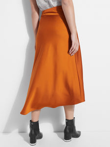 KIELY BIAS CUT MIDI SKIRT