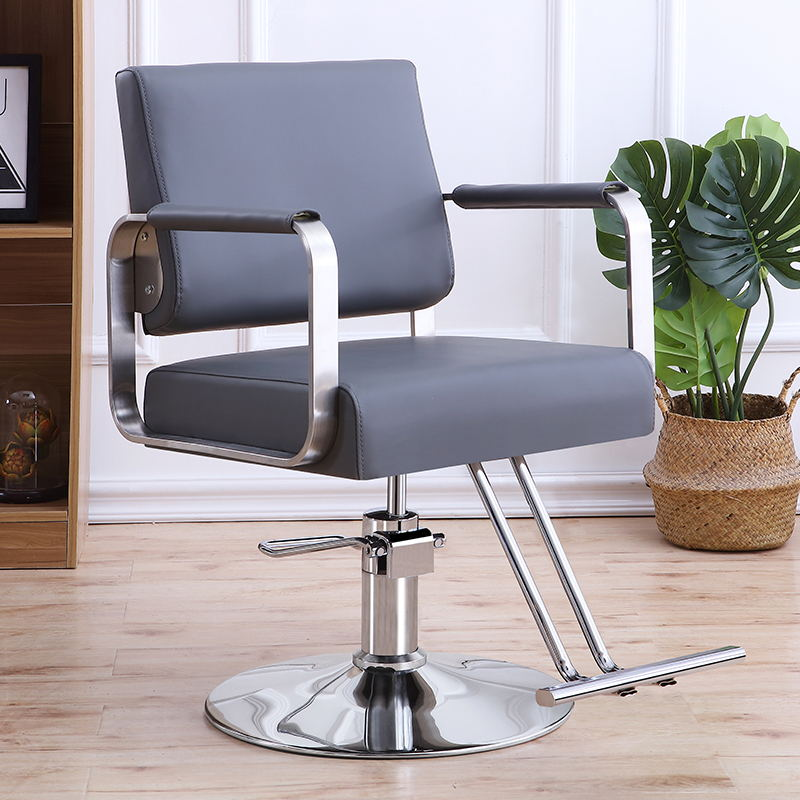 Factory Direct Stainless Steel Armrest Hairdressing Chair