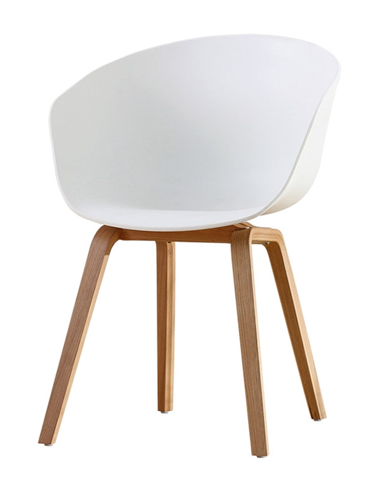 Nordic Dining Chair Casual Modern Restaurant Home