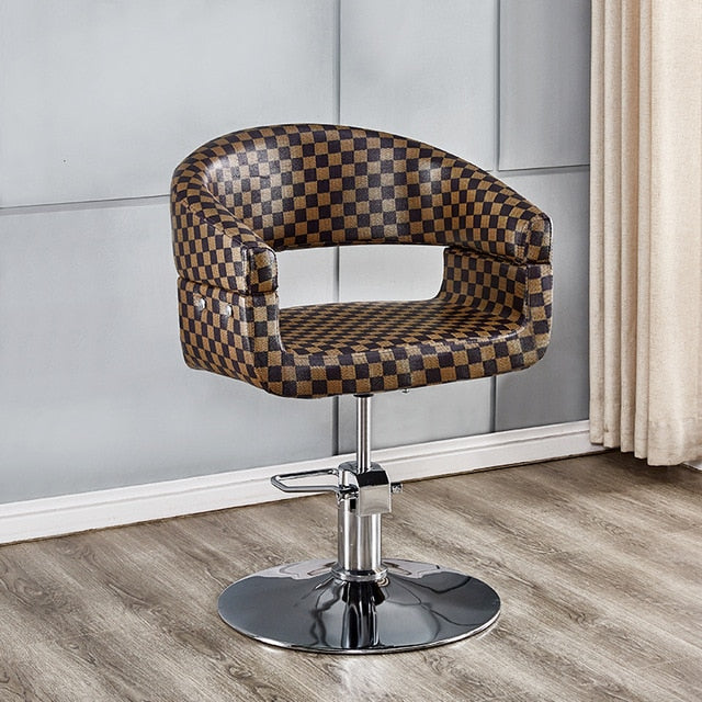 Hairdresser chair hair salon adjustable chair simple haircut chair