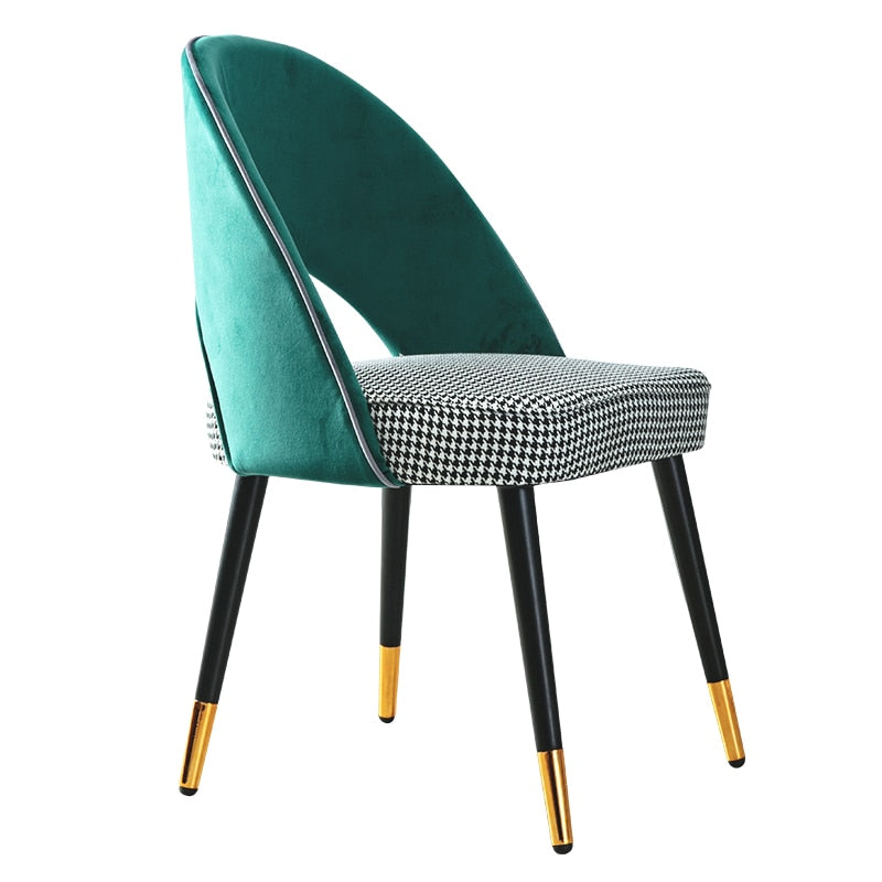Light Luxury Dining Chair Home Modern Minimalist Nordic Wood Chair