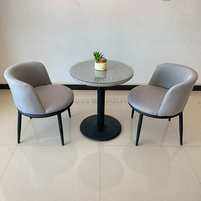 Coffee Negotiation Table and Chair Combination Reception