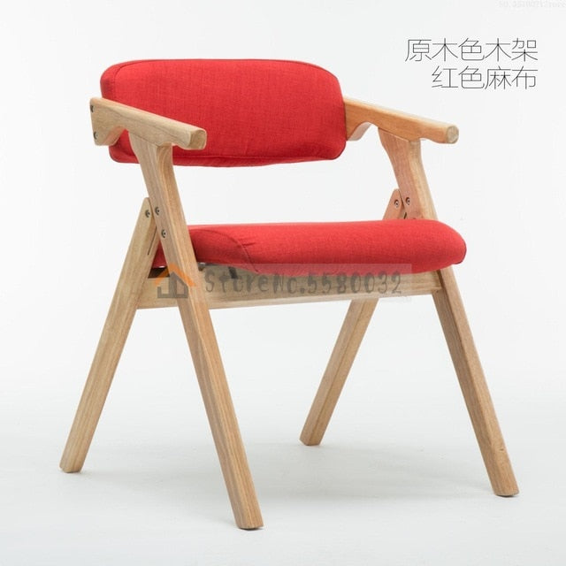 Modern Minimalist Dining Chair Nordic Wooden Dining Chair