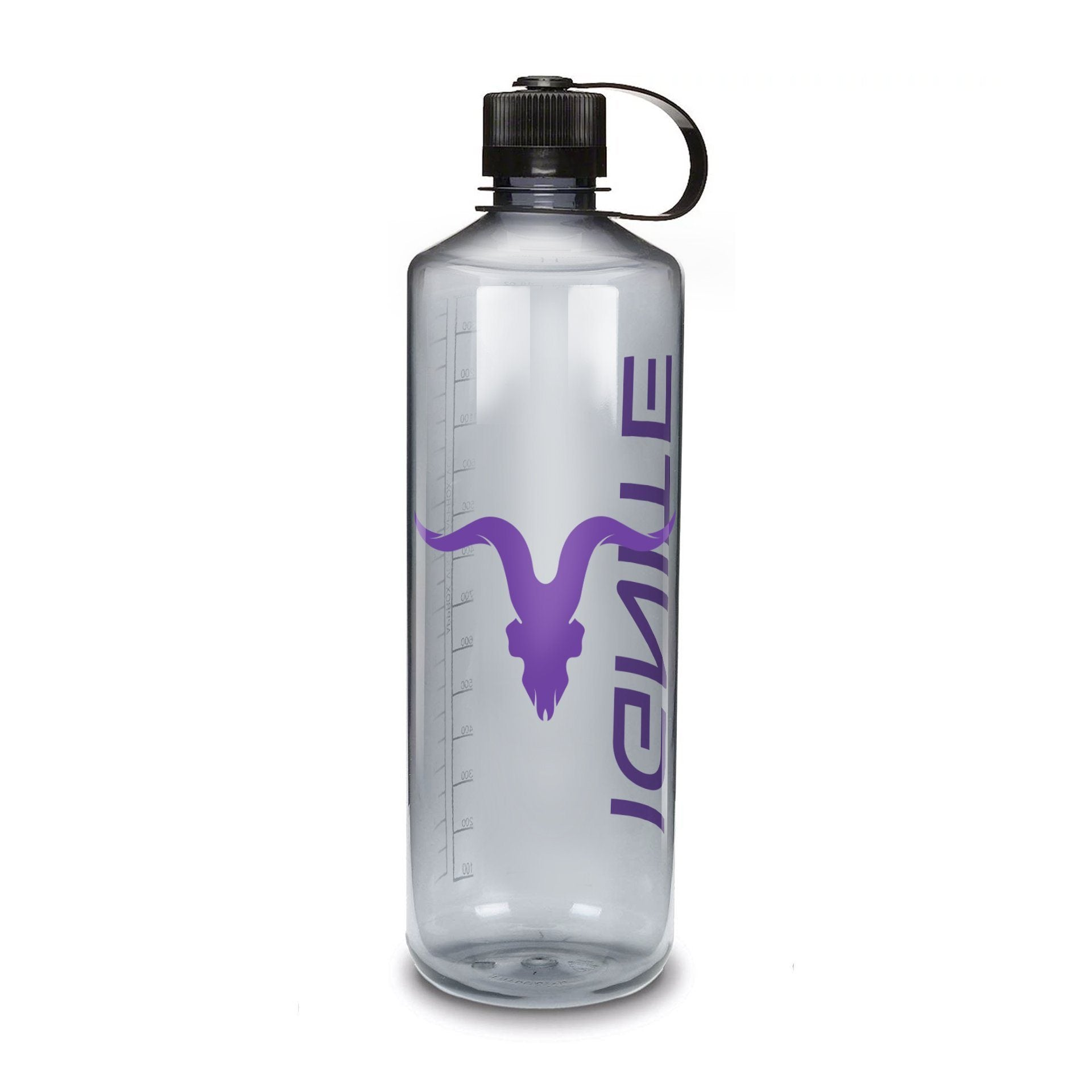 32 oz. Water Bottle with Purple Logo