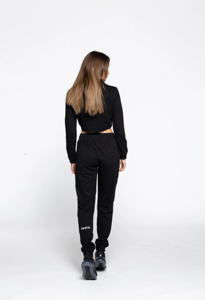Jogger Sweat Pants -Black