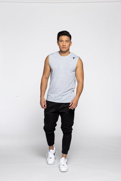 Men's Sleeveless Dri-Fit Shirt - Grey