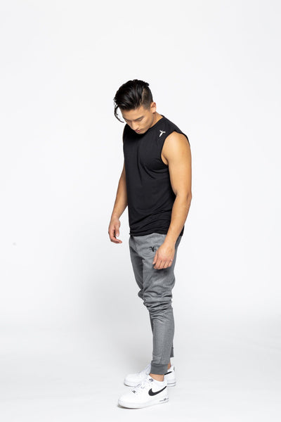 Men's Sleeveless Dri-Fit Shirt - Black