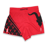 Red Performance Workout Shorts