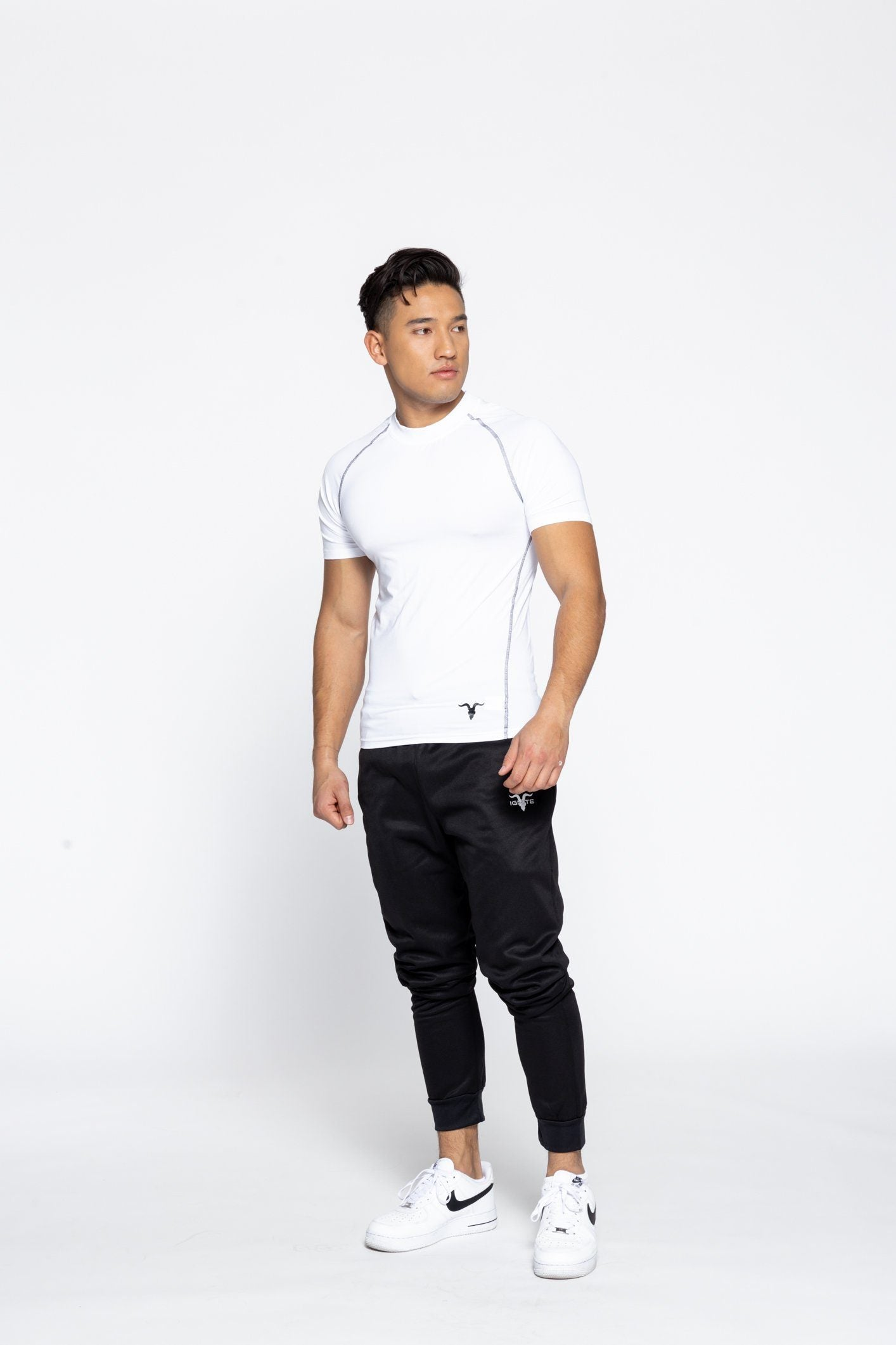 Men's Crew Neck Dri-Fit Tee - White