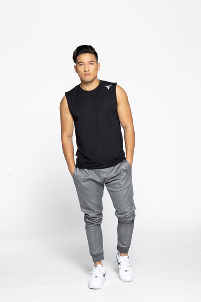 Dri-Fit Sleeveless Shirt - Black