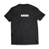 Block Strip Tee - Black