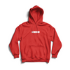 FAN FAVORITE FLEECE PULLOVER - RED