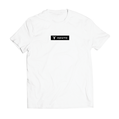 MEN'S FITTED CVC TEE - WHITE
