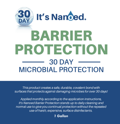 It's Nanoed™ 30 Day Barrier Protection