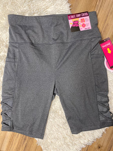 Plus size shorts (grey )