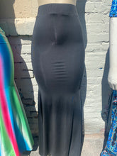 Load image into Gallery viewer, Sexy Black long skirt set