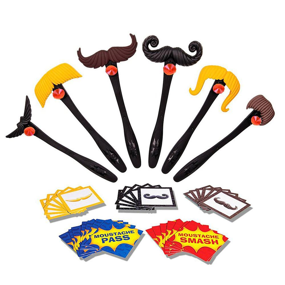 Moustache Smash Toys Board Games.