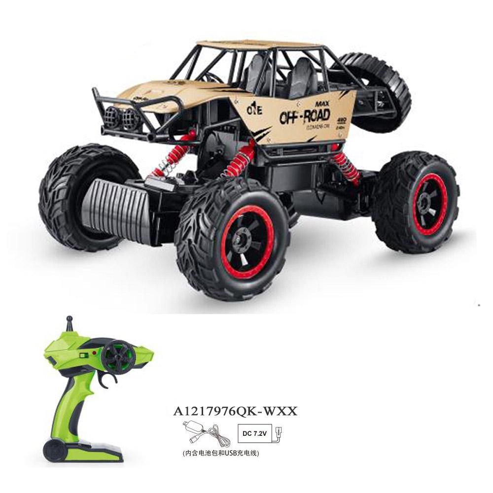 R/C ROCK CRAWLER MONSTER.