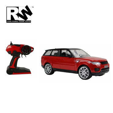 2.4 Ghz Electric Radio RC Range Rover Sports Car Toy with Working Lights.
