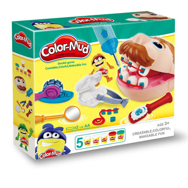 Color-Mud Play Dough.