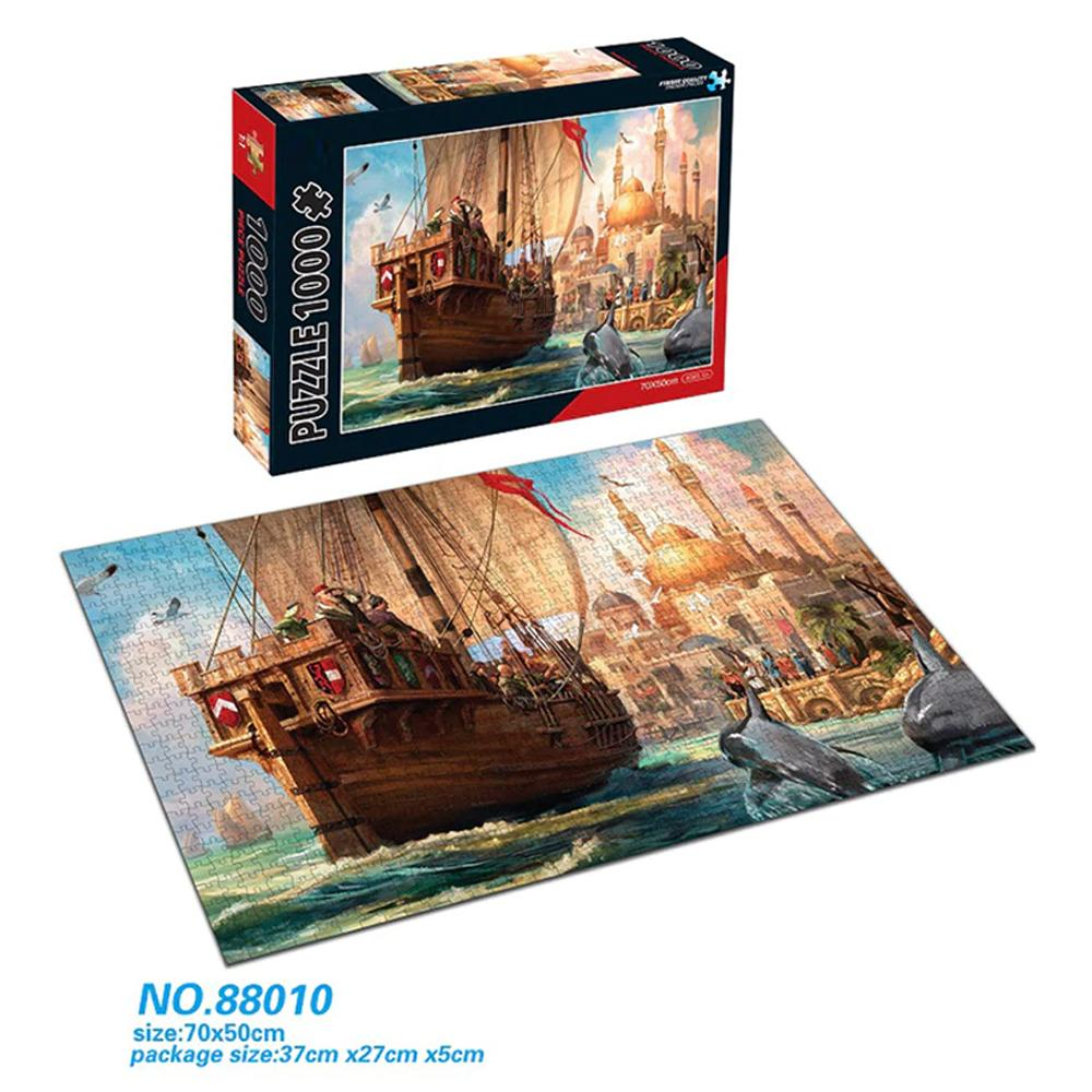 Puzzle 1000 Pieces for Adults & Kids.
