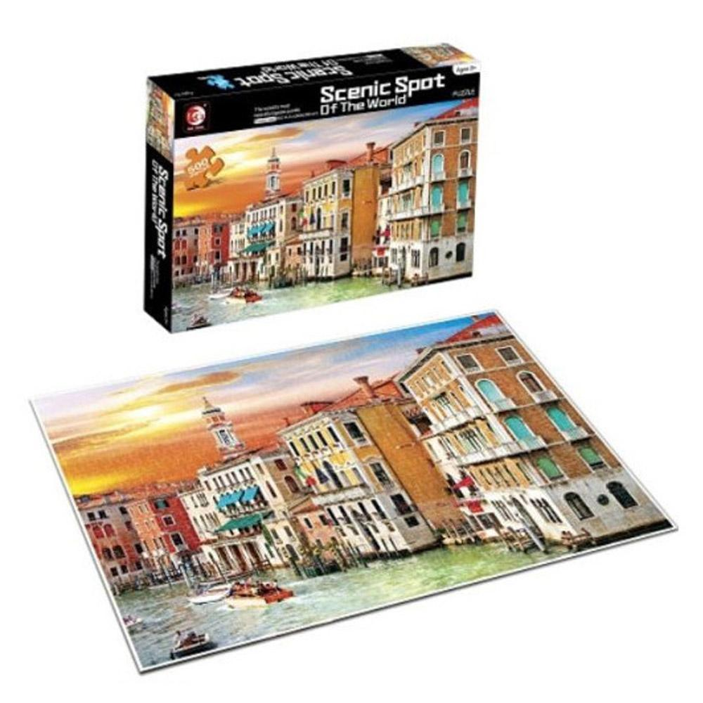Scenic Spot Of The World 500 PCS Puzzle.
